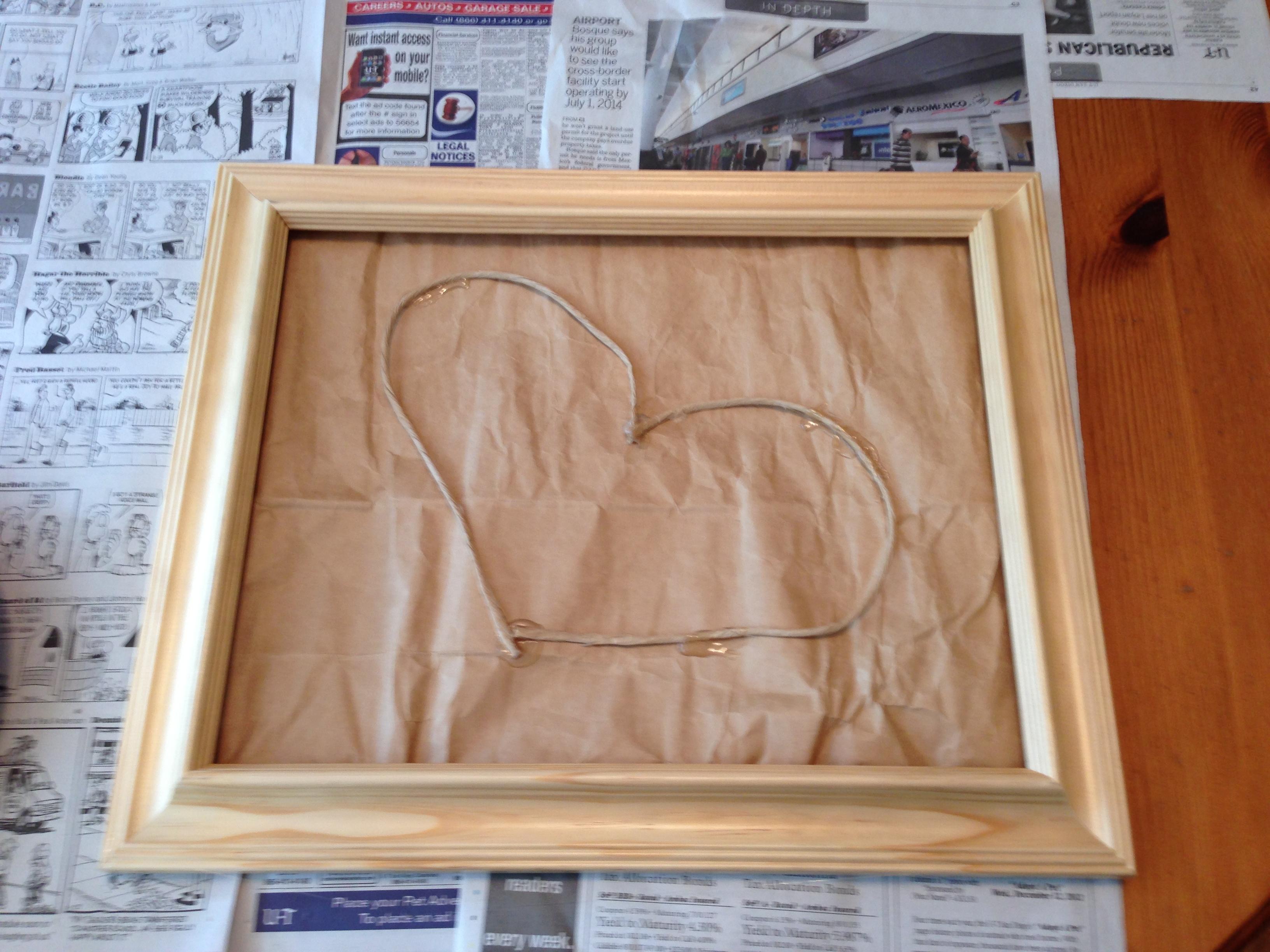 Looks kinda like a heart I guess.