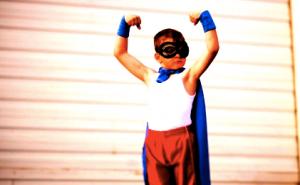 Tiny Super hero