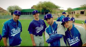Pat with team italia